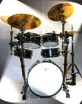 Blastech Drum Set with Rack & 16&#34; Bass Drum 